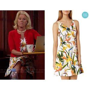 Karen Millen Bird Of Paradise Print Dress